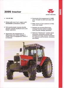 Massey Ferguson 3095 Tractor